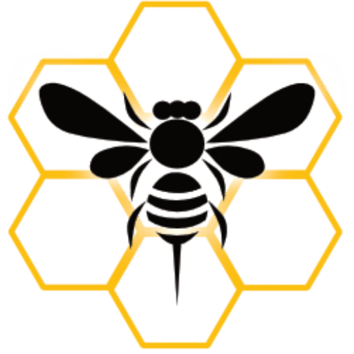 Swarming Bee Logo, Web Design, Website Design, Website Management